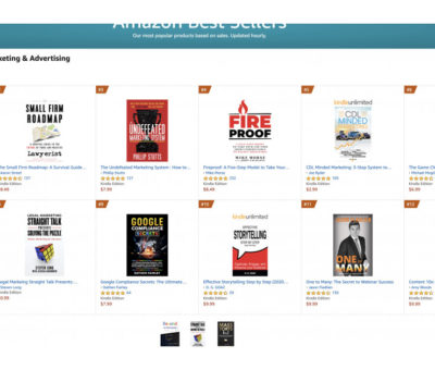 Latinx Legal Marketing Book Soars to Amazon's #1 New Release and Gains Buzz From Press